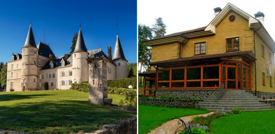 'Коттедж в Черкассах или замок во Франции: что дороже? '