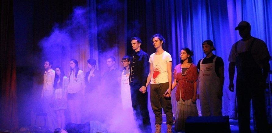 'В Черкассы впервые приехал англоязычный любительский театр'