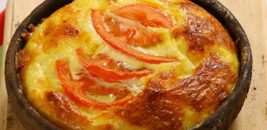 Фото 3 - Смажений сулугуні з помідорами