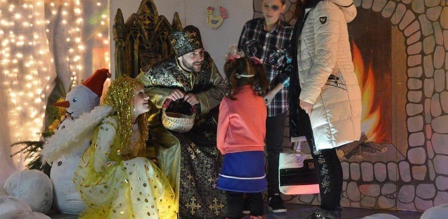 'Двері в казку: резиденція Святого Миколая відкрилася в Черкасах'