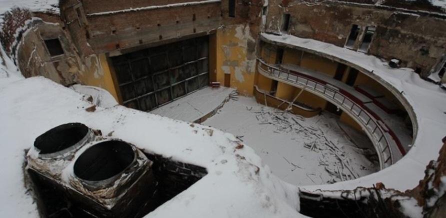 'Черкасский областной театр все еще без крыши'