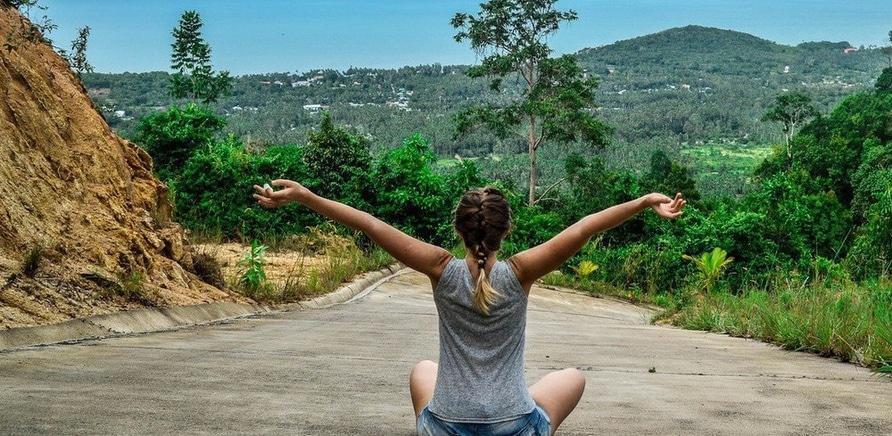 Медитація в горах