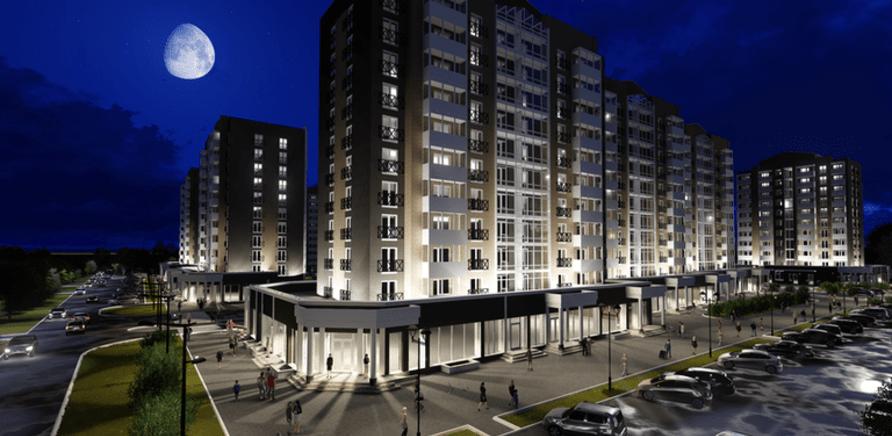 'В Черкассах строят первый жилой комплекс в английском стиле'