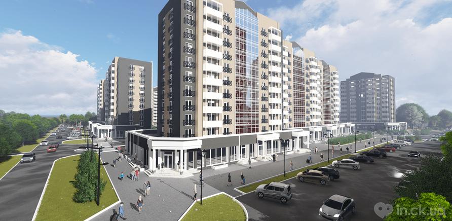 Фото 2 - В Черкассах строят первый жилой комплекс в английском стиле