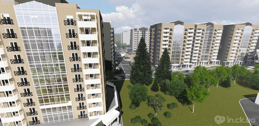 Фото 4 - В Черкассах строят первый жилой комплекс в английском стиле