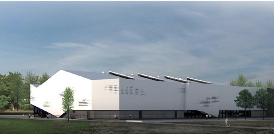 Фото 2 - Какой вид будет иметь черкасский Ледовый дворец?
