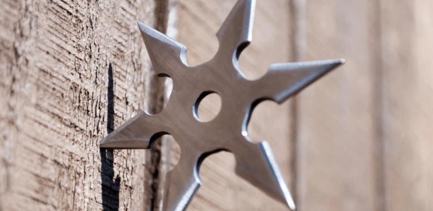 Фото 2 - Сюрикен – японское метательное оружие, которое имеет вид звездочек, монет, клинков, игл и т.д.