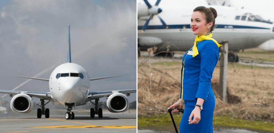 Фото 2 - Для стюардессы важно любить небо и получать от процесса полета удовольствие