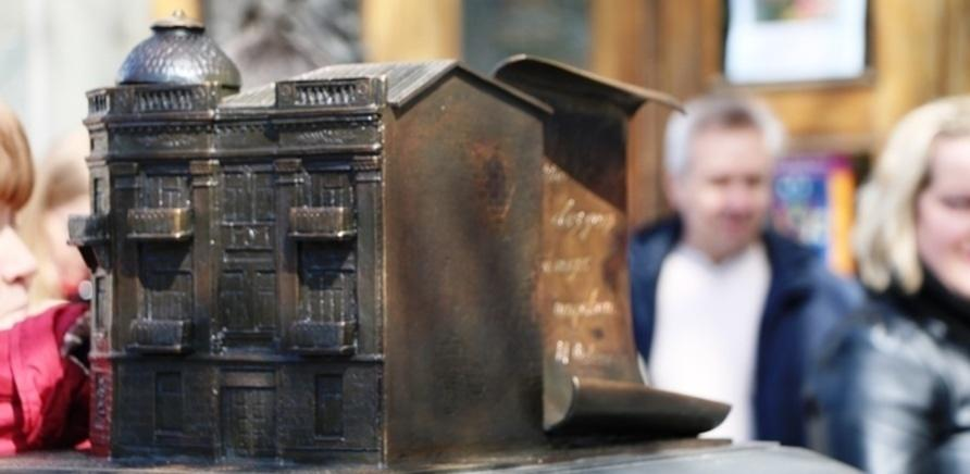Фото 4 - На черкасском Крещатике установили мини-копии исторических зданий