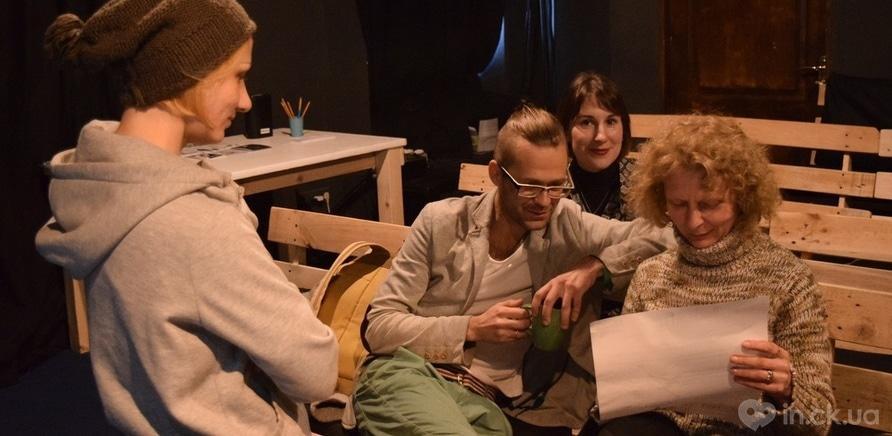 Фото 3 - Единственный киевский андеграундный театр представил горожанам необычный перформанс