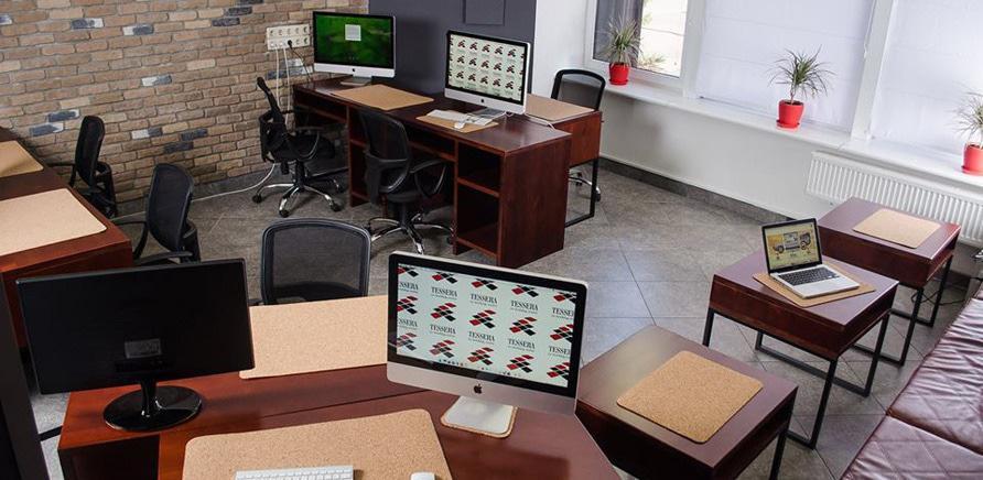 Новое место: Tessera co-working center