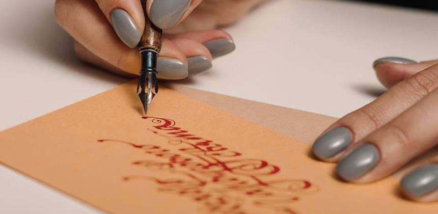 'Черкасщанка увлекается искусством каллиграфии'