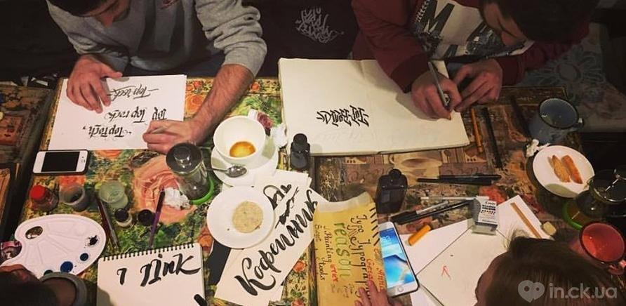 Фото 2 - Черкасщанка увлекается искусством каллиграфии