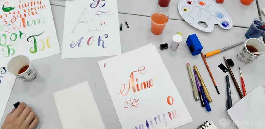 Фото 3 - Черкасщанка увлекается искусством каллиграфии