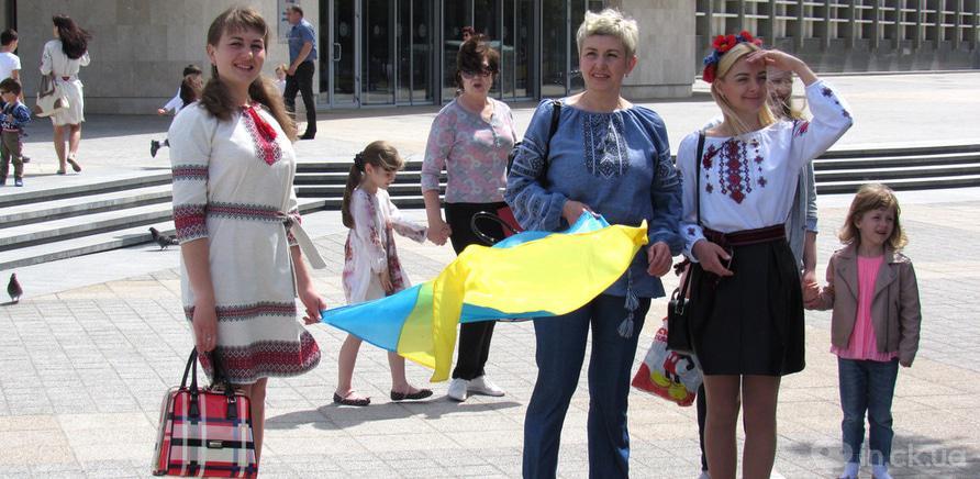 Фото 2 - В Черкассах в четвертый раз состоялся марш в вышиванках