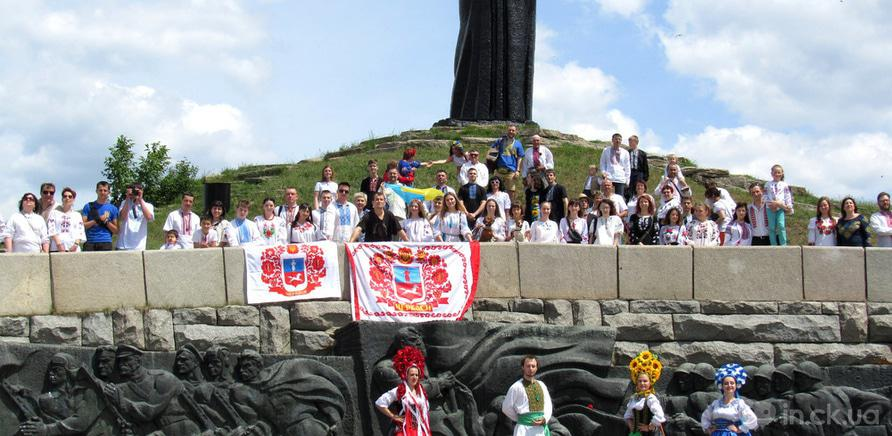 Фото 11 - В Черкассах в четвертый раз состоялся марш в вышиванках