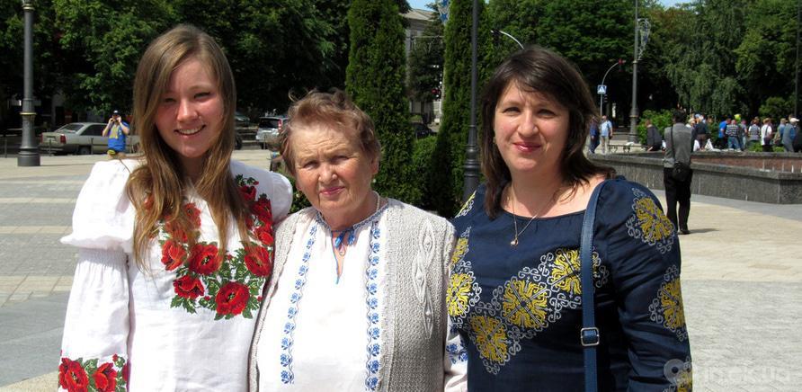 Фото 8 - В Черкассах в четвертый раз состоялся марш в вышиванках
