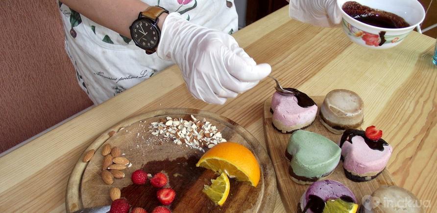 Фото 1 - Процесс приготовления полезных сладостей
