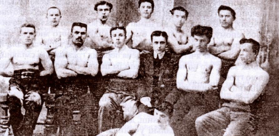 Фото 1 - Футболісти Сміли 1908 року