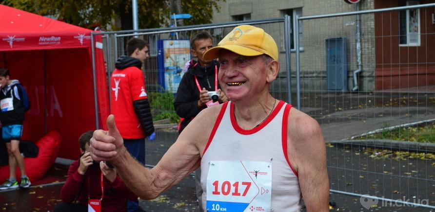 Фото 3 - Самый старший участник бегает уже около 60 лет