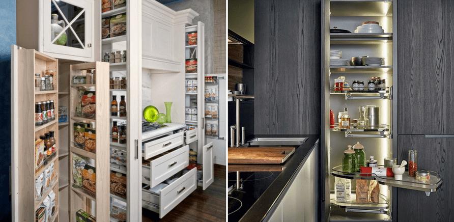 Фото 4 - Удобно организованные системы хранения в шкафах и ящиках сэкономят время и в процессе приготовления пищи, и в процессе уборки