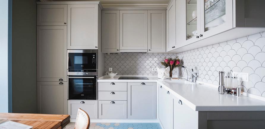 Фото 1 - Для кухонного пола нет ничего более практичного, чем плитка