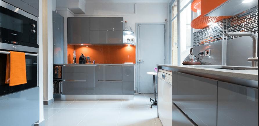 Фото 3 - Для кухонного пола нет ничего более практичного, чем плитка