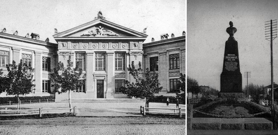 Женская правительственная гимназия (ныне ЦДЮТ). Архитектор – Владислав Городецкий