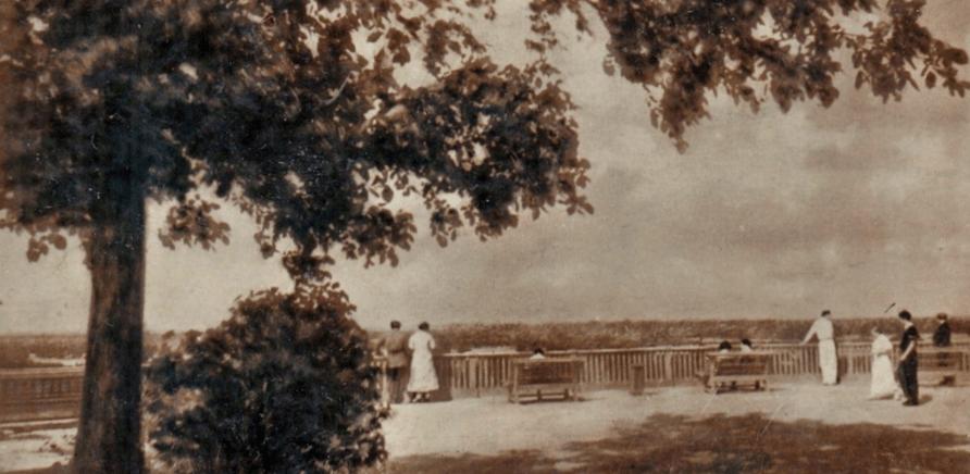 Фото 1 - Сквер Богдана Хмельницкого в 1938 году