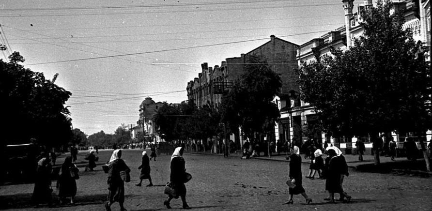 Крещатик в 1947 году