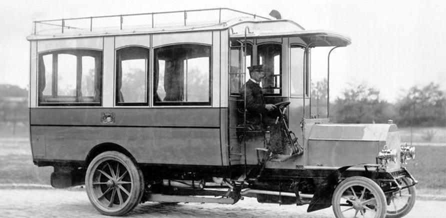 'Первые черкасские автобусы: маршруты столетней давности'