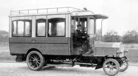 Статья 'Первые черкасские автобусы: маршруты столетней давности'