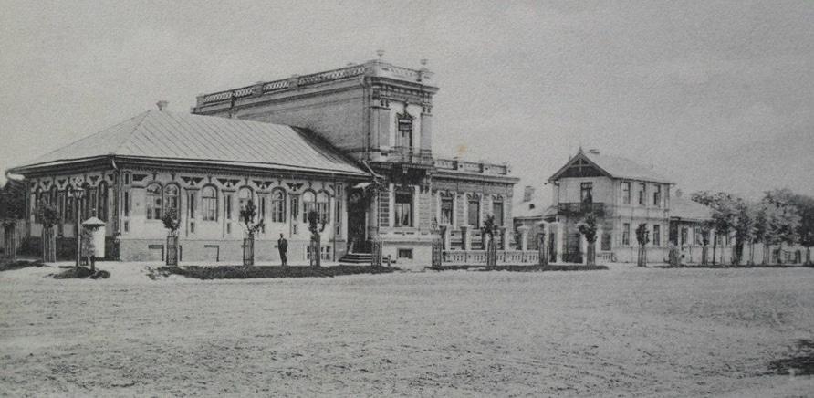 Старая Чигиринская улица, дом Гаммера. Угол нынешних Шевченко и Небесной сотни, сейчас на этом месте АТБ