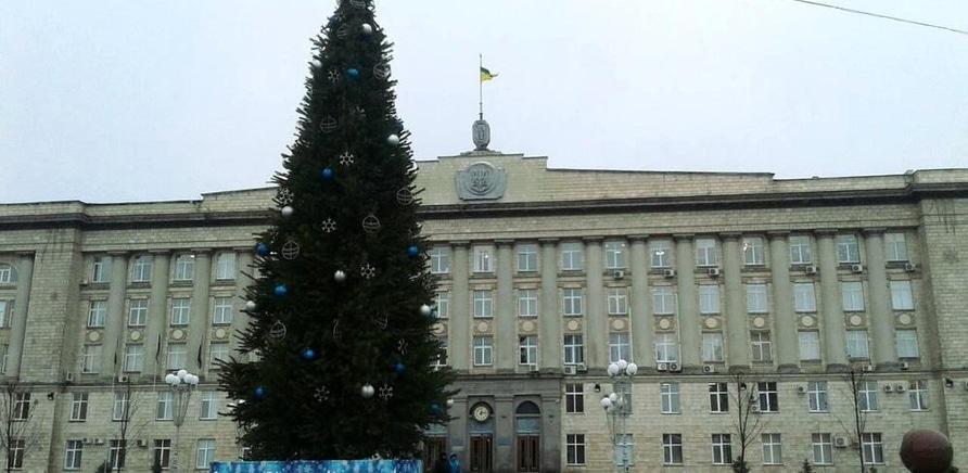 'Черкасская елка – самая пушистая в Украине'