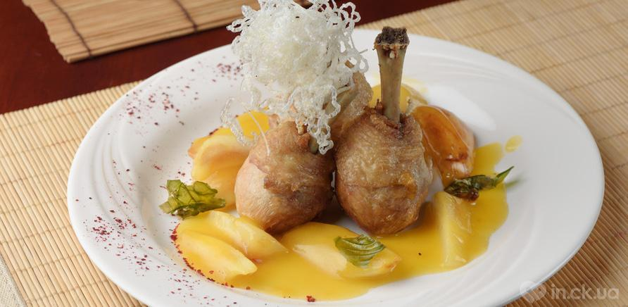 Куриные ножки в соусе из манго