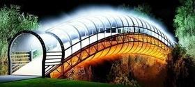 Статья 'Черкасский дизайнер предложил новую концепцию моста любви'