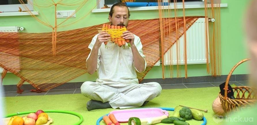 Фото 1 - Музицирования овощами