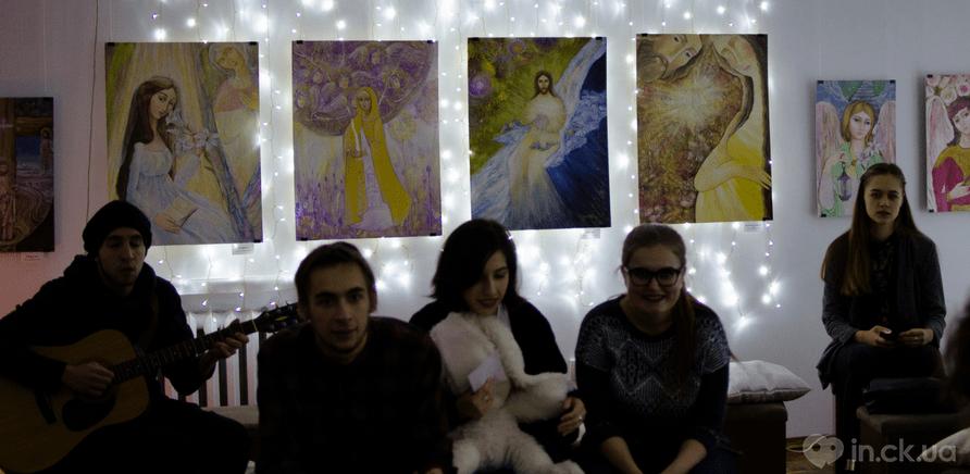 """Фото 3 - Черкасщане романтично провели время на творческой вечеринке """"Любовь это..."""""""