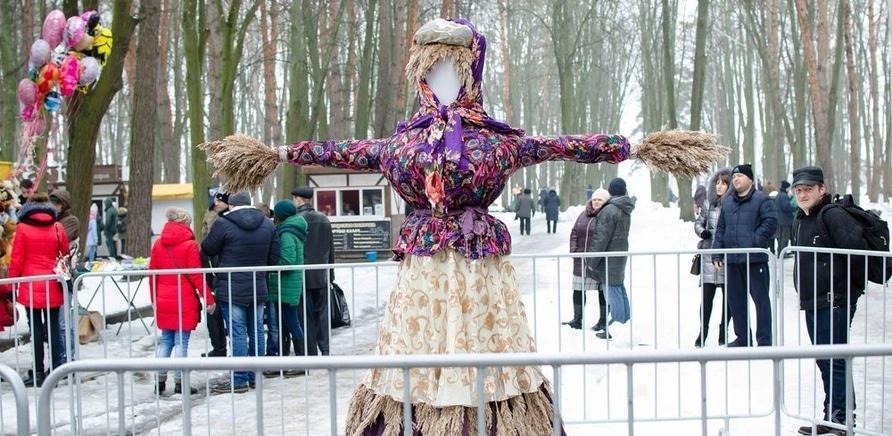 """Фото 3 - Черкасщане праздновали Масленицу в """"Сосновом бору"""""""