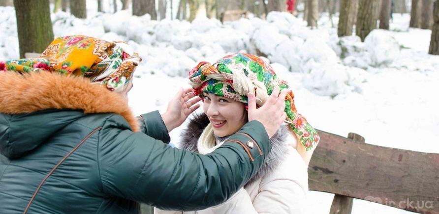 """Фото 7 - Черкасщане праздновали Масленицу в """"Сосновом бору"""""""