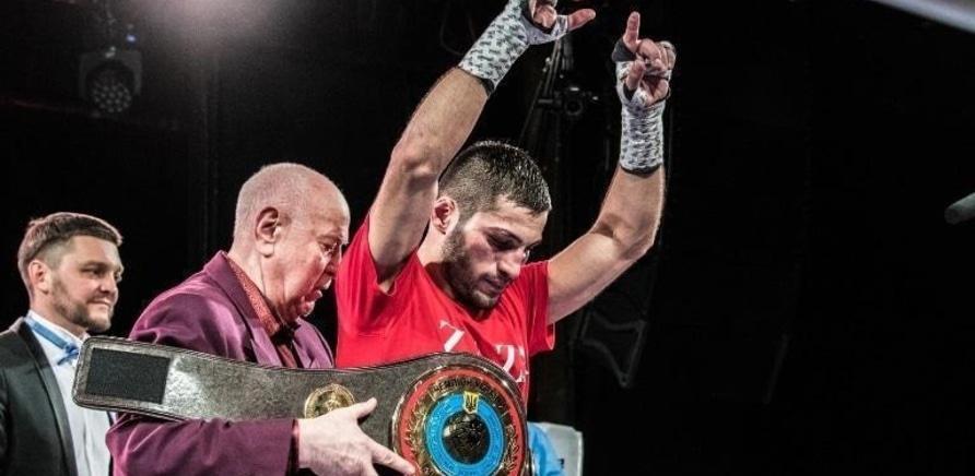 'Боксер из Черкасс стал чемпионом Украины'