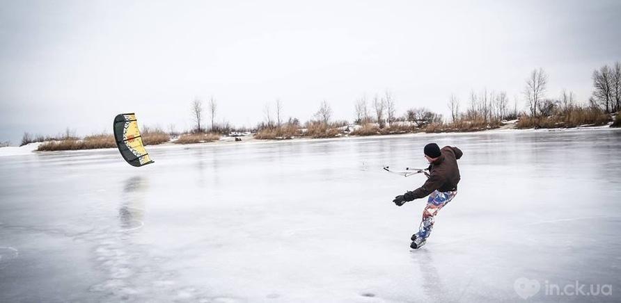 Фото 3 - Зимний кайтинг