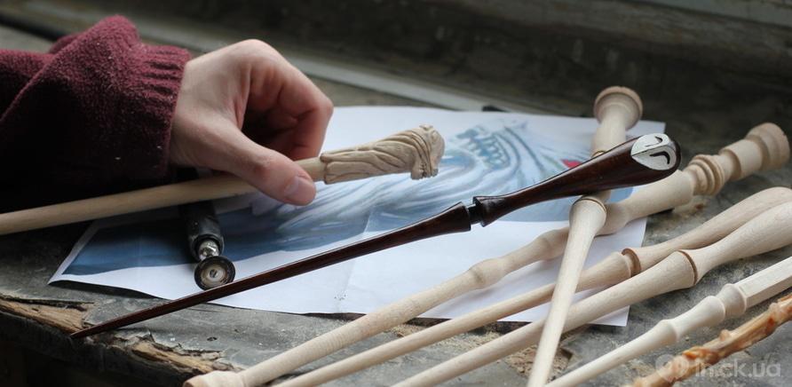 Фото 3 - Черкасщанин изготавливает волшебные палочки по мотивам Гарри Поттера