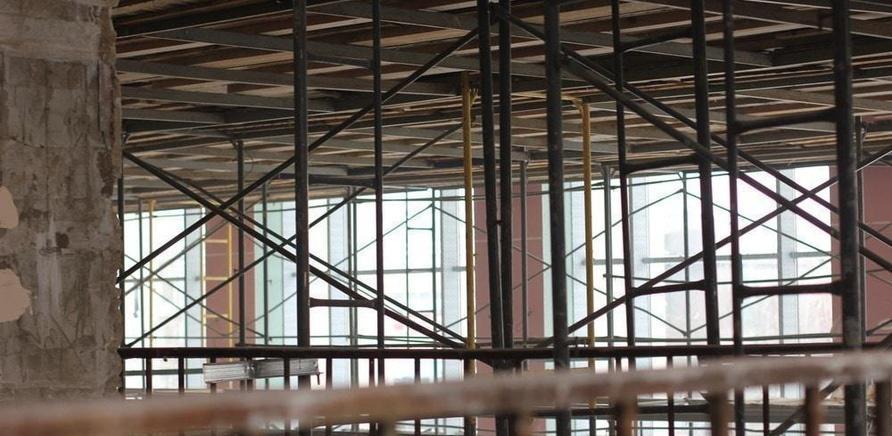 'Черкасский драмтеатр: ремонтные работы набирают обороты'