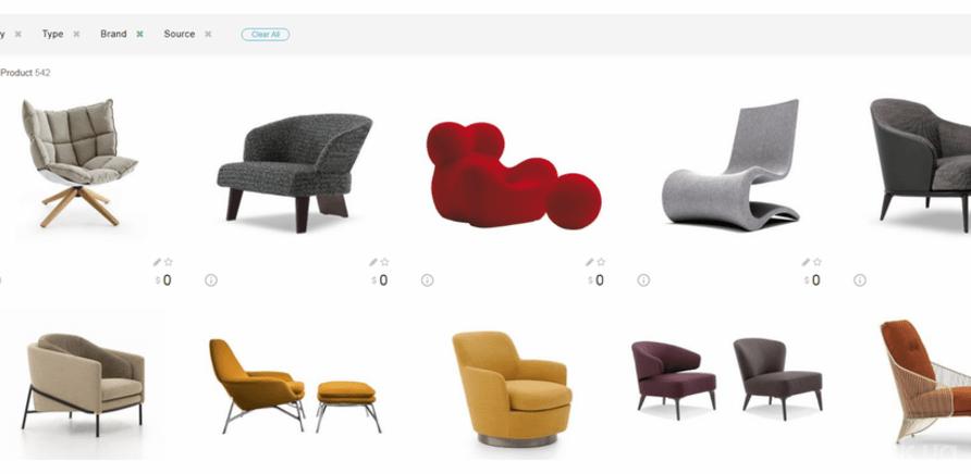 """Поисковый сервис для дизайнеров и архитекторов """"TheCase"""", созданный Андреем Могилой"""