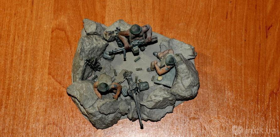 Фото 2 - Пулеметное гнездо пограничников в Афганистане