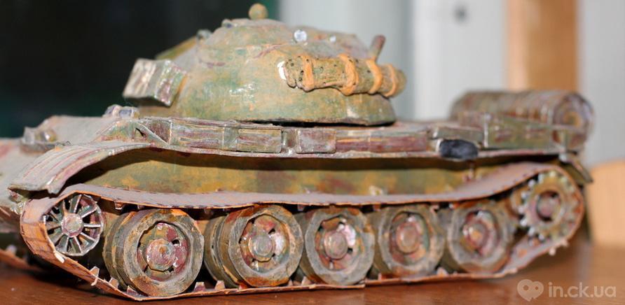 Фото 5 - Черкасщанин изготавливает реалистичные модели бронетехники