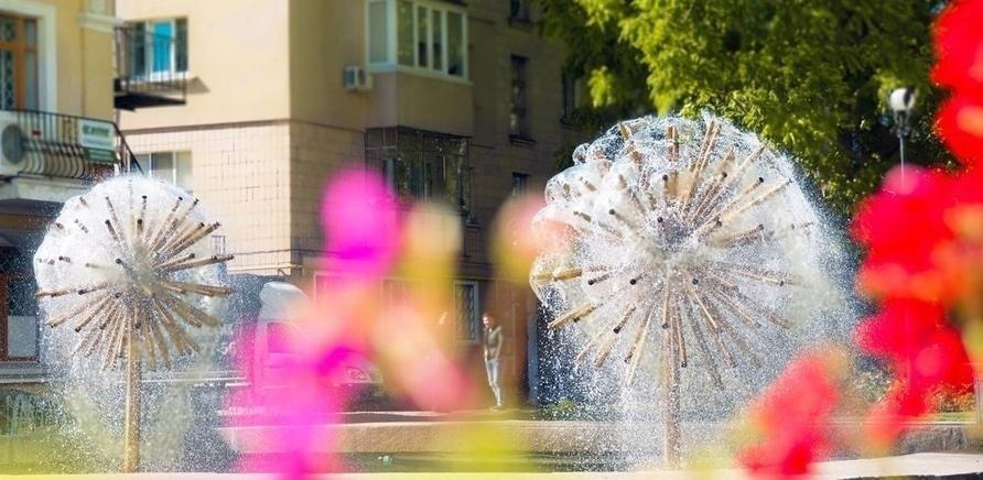 'Кинути монетку: фонтани в Черкасах'