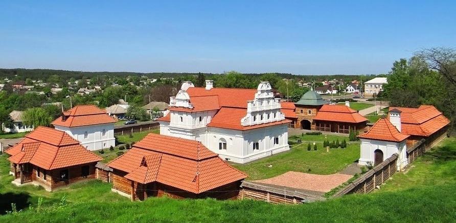 Фото 3 - Резиденция Хмельницкого в Чигирине. Фото – mapio.net