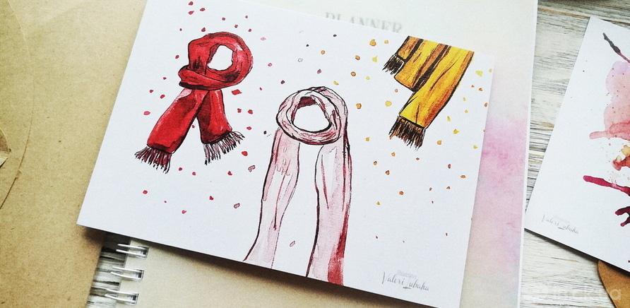 Фото 5 - Подарки с душой: черкасщанки создают яркие открытки